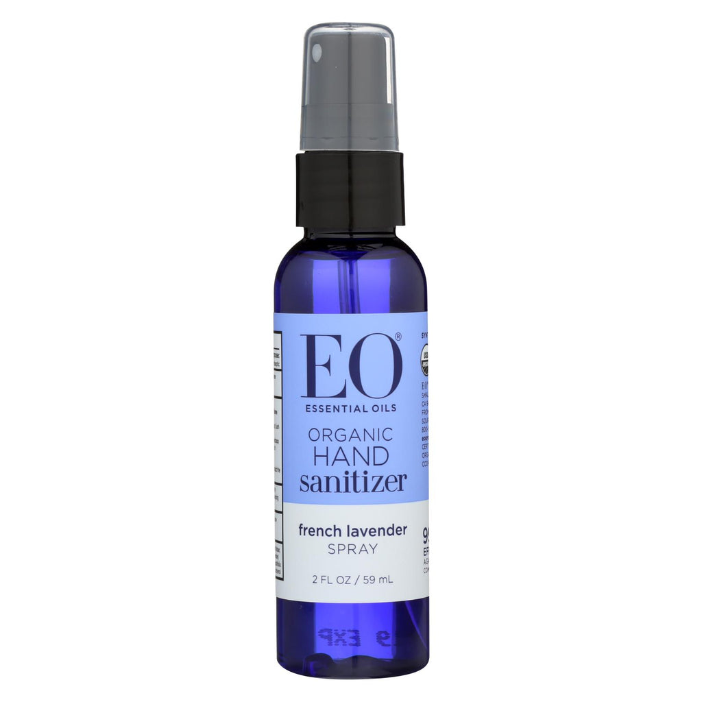Eo Products Hand Sanitizer Spray - Lavender - 2 Fl Oz - Case Of 6 - Organicotc.com