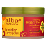 Alba Botanica Hawaiian Body Polish Sugar Cane - 10 Oz - Organicotc.com