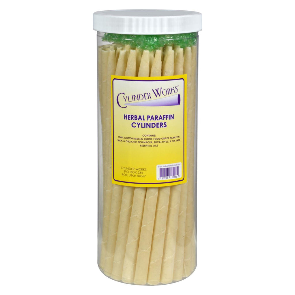 Cylinder Works Paraffin Candles - Herbal - 50 Pack - Organicotc.com