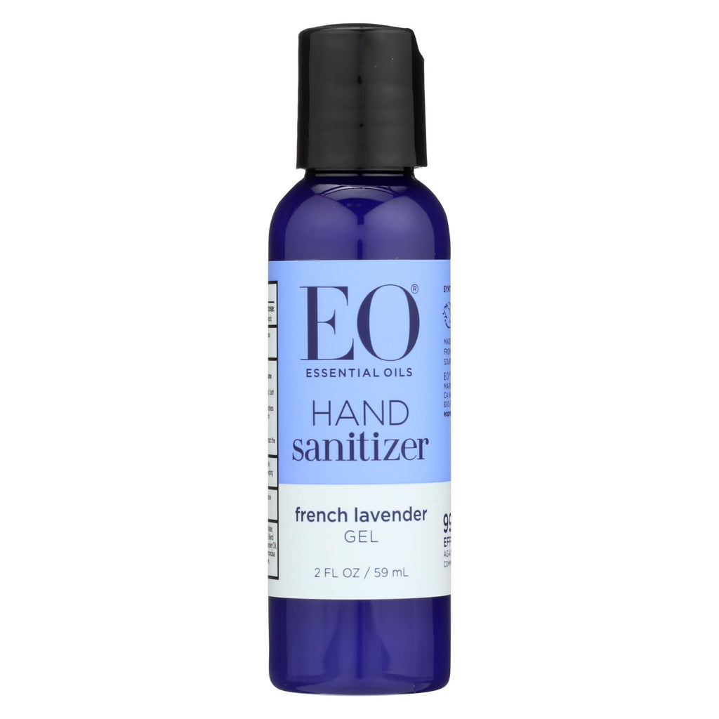 Eo Products Hand Sanitizer - Organic Lavender - 2 Fl Oz - Case Of 6 - Organicotc.com