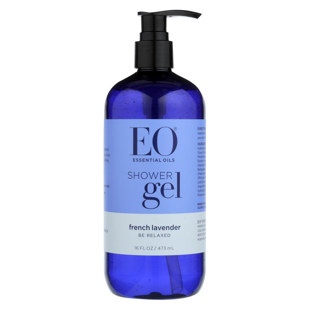 Eo Products Shower Gel Soothing French Lavender - 16 Fl Oz - Organicotc.com