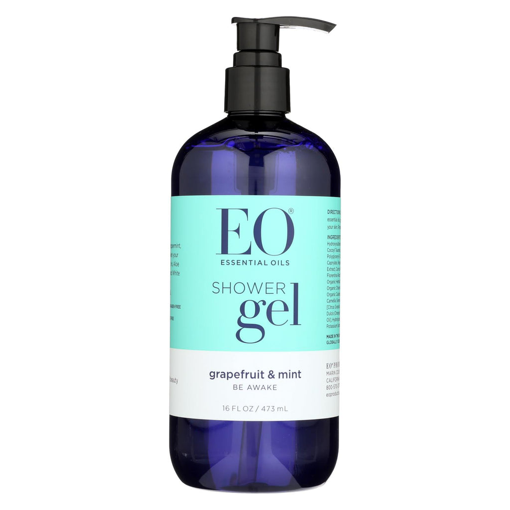 Eo Products Shower Gel - Grapefruit And Mint - 16 Fl Oz - Organicotc.com