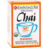 Uncle Lee's Organic Chai Cinnamon - 18 Tea Bags