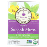 Traditional Medicinals Organic Smooth Tea - Senna Peppermint - 16 Bags
