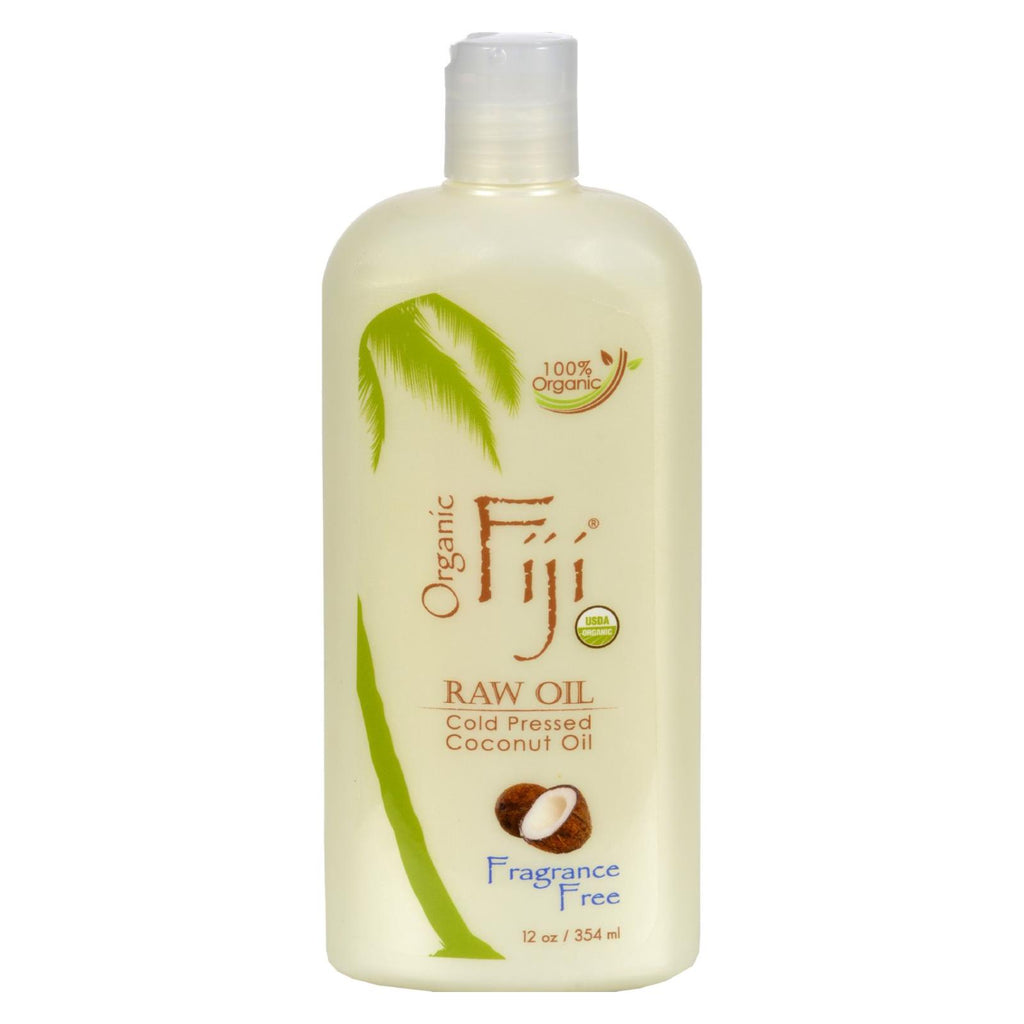 Organic Fiji Virgin Coconut Oil Fragrance Free - 12 Fl Oz
