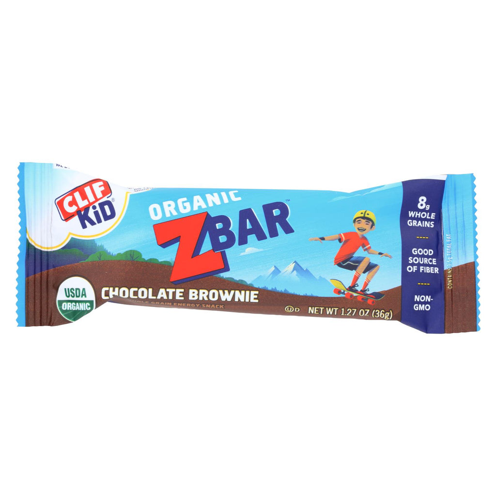 Clif Bar Zbar - Organic Chocolate Brownie - Case Of 18 - 1.27 Oz - Organicotc.com