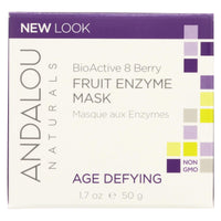 Andalou Naturals Bioactive 8 Berry Fruit Enzyme Mask - 1.7 Fl Oz - Organicotc.com
