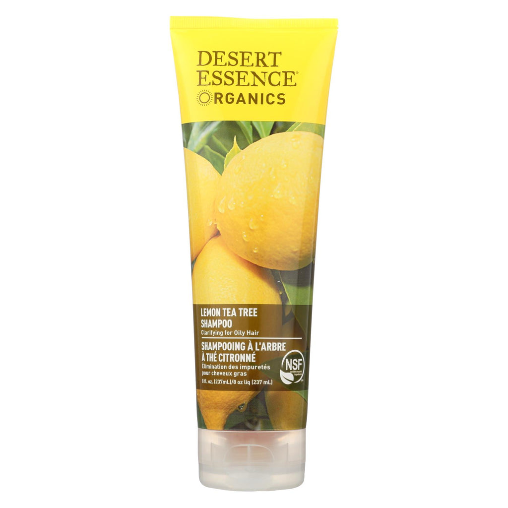 Desert Essence Shampoo Lemon Tea Tree - 8 Fl Oz - Organicotc.com