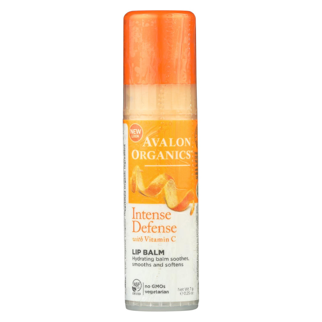 Avalon Organics Vitamin C Soothing Lip Balm - Case Of 16 - .25 Oz - Organicotc.com