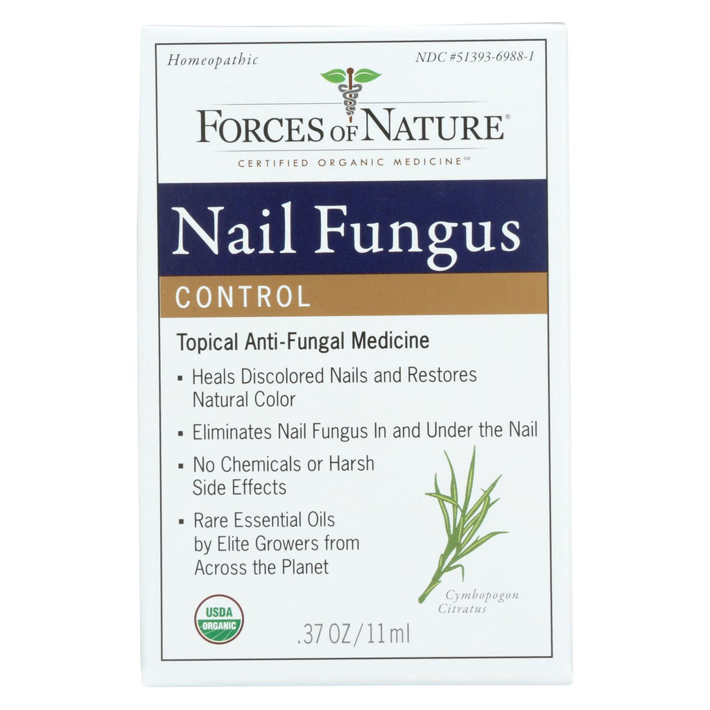 Forces Of Nature Organic Nail Fungus Control - 11 Ml - Organicotc.com