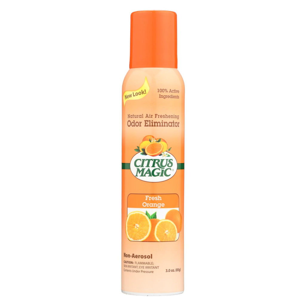 Citrus Magic Natural Odor Eliminating Air Freshener - Fresh Orange - 3.5 Oz - Organicotc.com