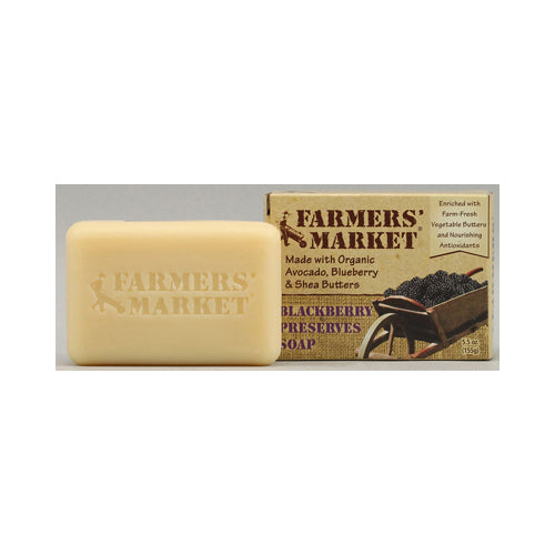 Farmer's Market Natural Bar Soap Blackberry Preserves - 5.5 Oz - Organicotc.com