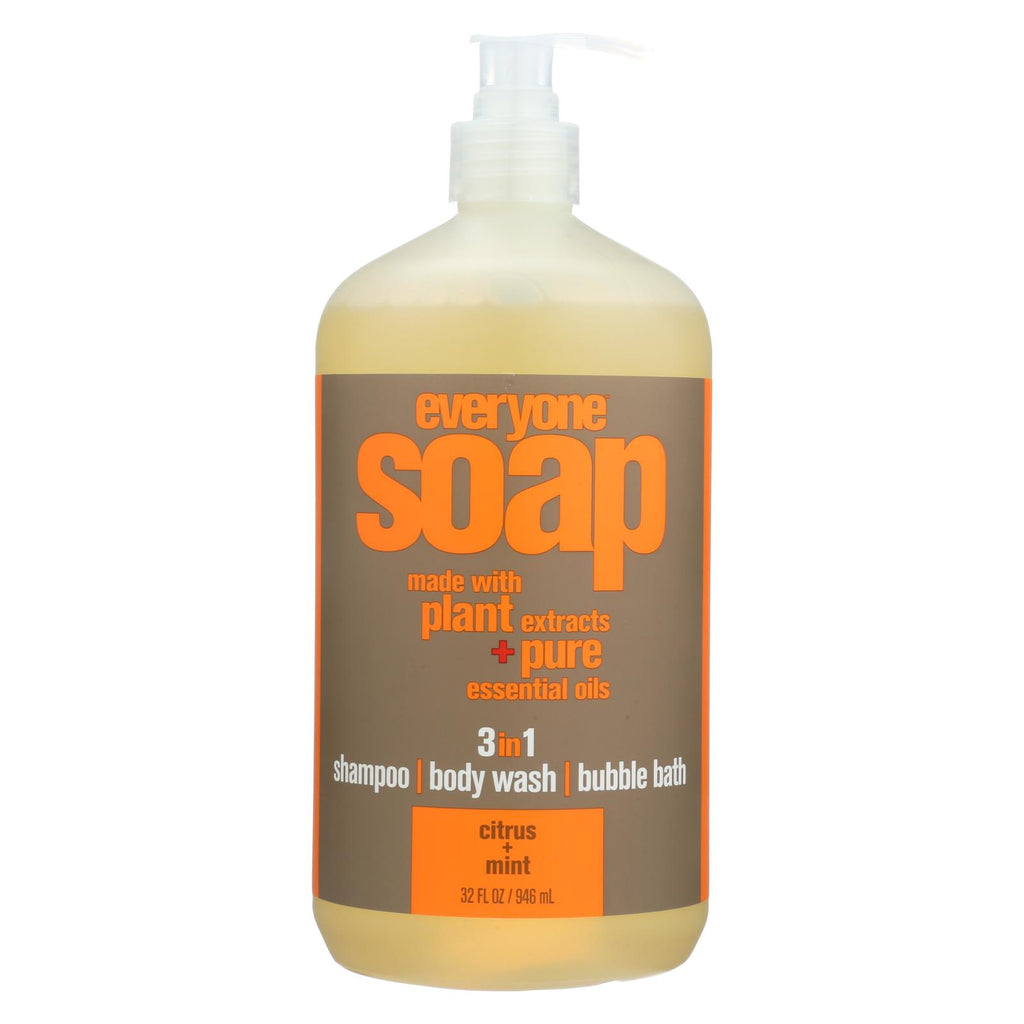 Eo Products Everyone Liquid Soap Citrus And Mint - 32 Fl Oz - Organicotc.com