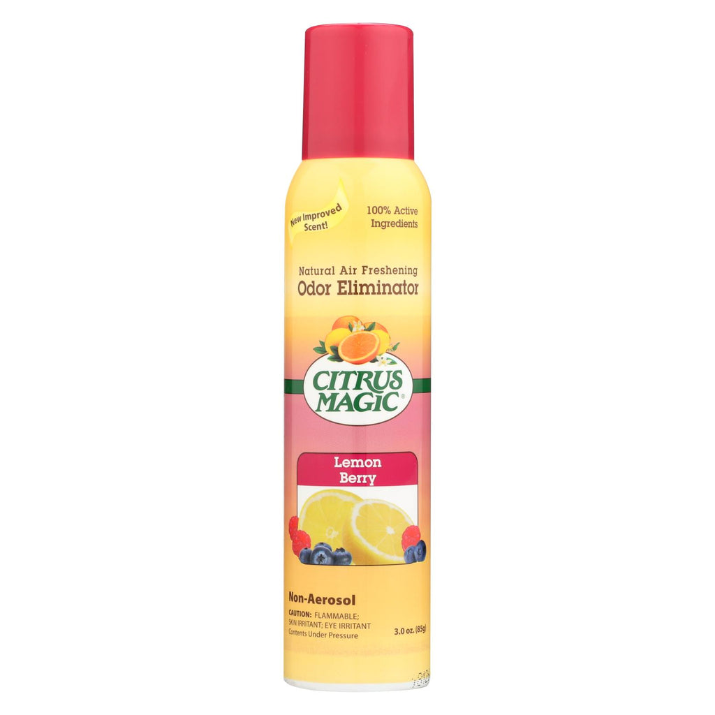 Citrus Magic Natural Odor Eliminating Air Freshener - Lemon Raspberry - 3.5 Fl Oz - Organicotc.com