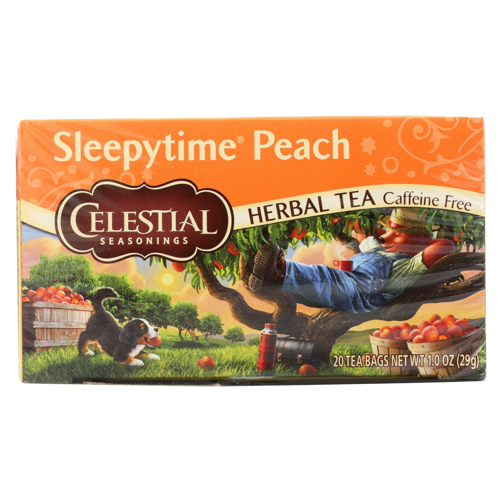 Celestial Seasonings Herbal Tea Sleepytime P - Case Of 6 - 20 Bag - Organicotc.com