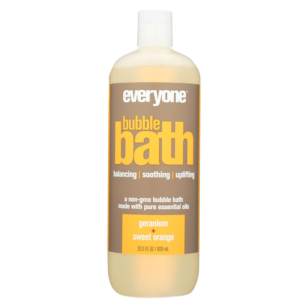 Eo Products Everyone Bath Soak - Geranium And Sweet Orange - 30 Oz - Organicotc.com