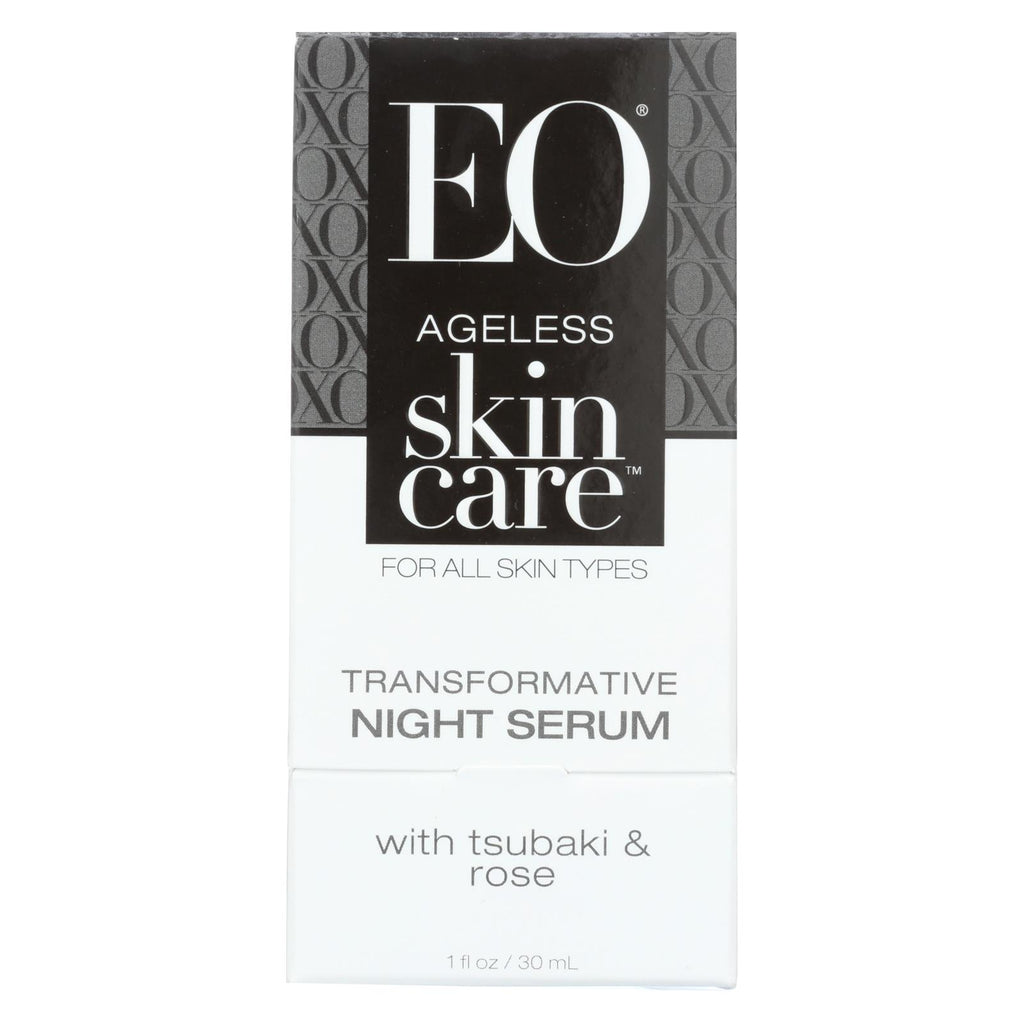 Eo Products Face Night Serum - Ageless - Transformative - 1 Oz - 1 Each - Organicotc.com