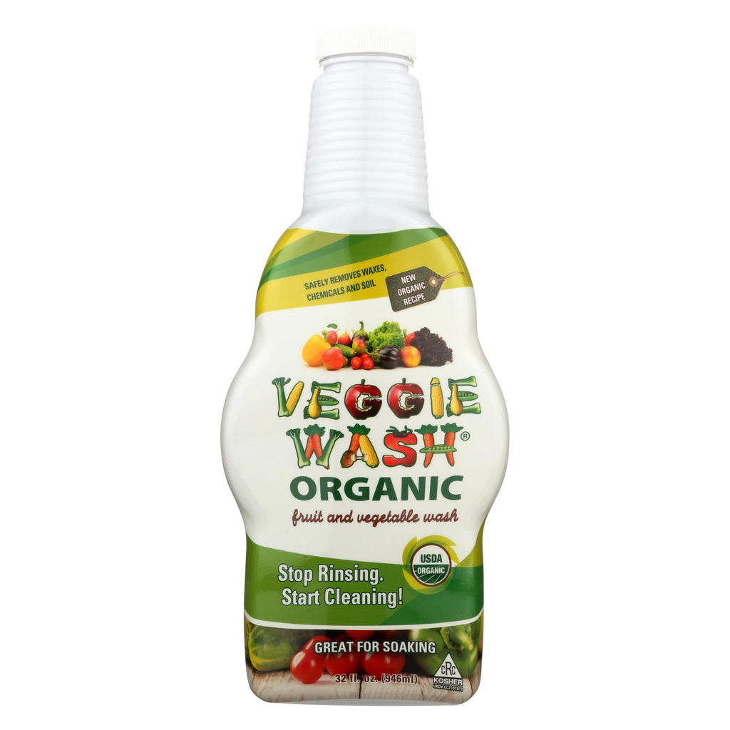 Citrus Magic Veggie Wash - Organic - Soaking Size Bottle - 32 Oz - Organicotc.com
