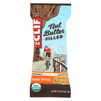 Clif Bar Organic Nut Butter Filled Energy Bar - Peanut Butter - Case Of 12 - 1.76 Oz. - Organicotc.com