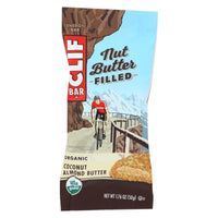 Clif Bar Organic Nut Butter Filled Energy Bar - Coconut Almond Butter - Case Of 12 - 1.76 Oz. - Organicotc.com