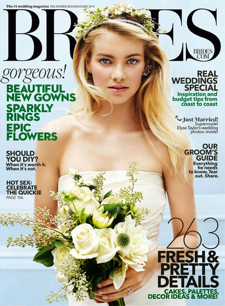 BRIDES MAGAZINE CZ BY KENNETH JAY LANE