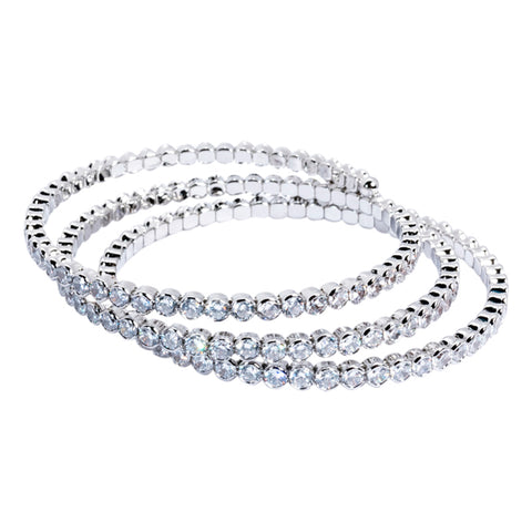 One Row Open Stretch Bracelet