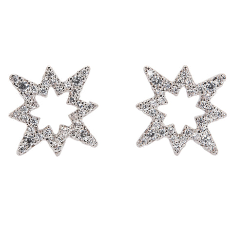 Mini Star Drop Earrings