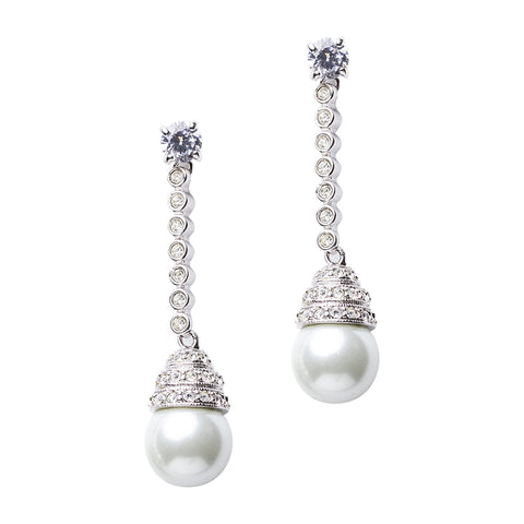 Statement Pear Drop Earrings