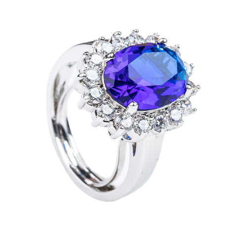 Cushion Royal Engagement Ring