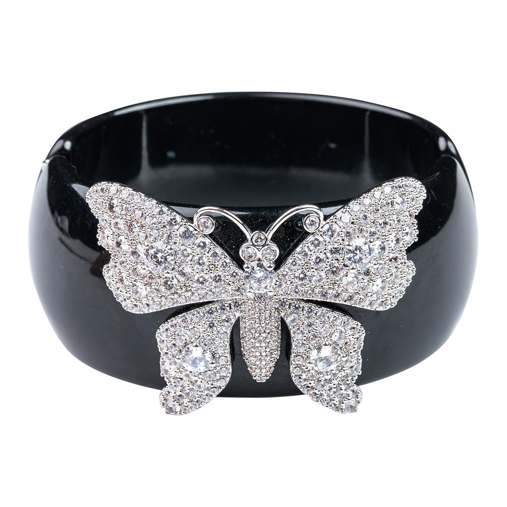 Butterfly Pave Cuff