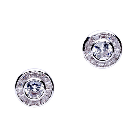 Cushion Stud Post Earrings