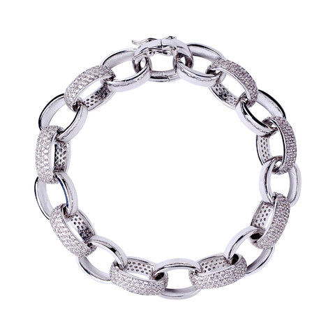 6 Row Statement Bracelet
