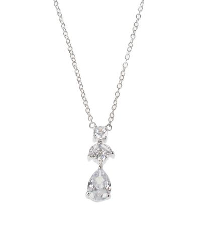 Mixed CZ Pendant Necklace