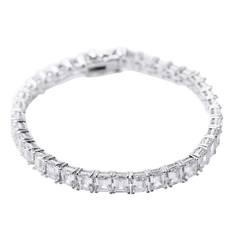 Round Pave Domed Band
