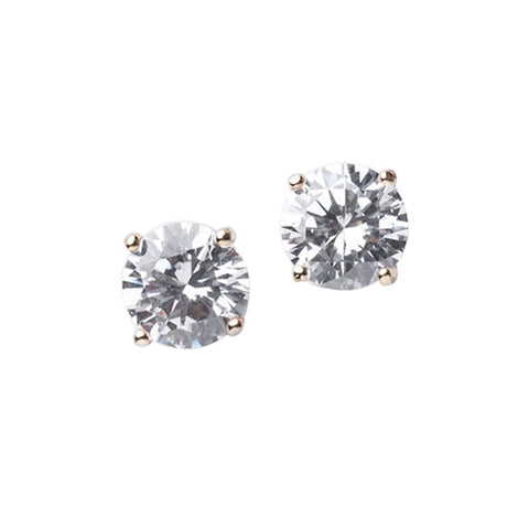 Baguette Cluster Stud Earrings