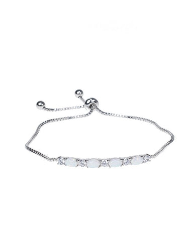 Marquise and Round CZ Bracelet