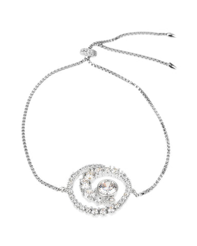 Marquise and Baguette CZ Necklace