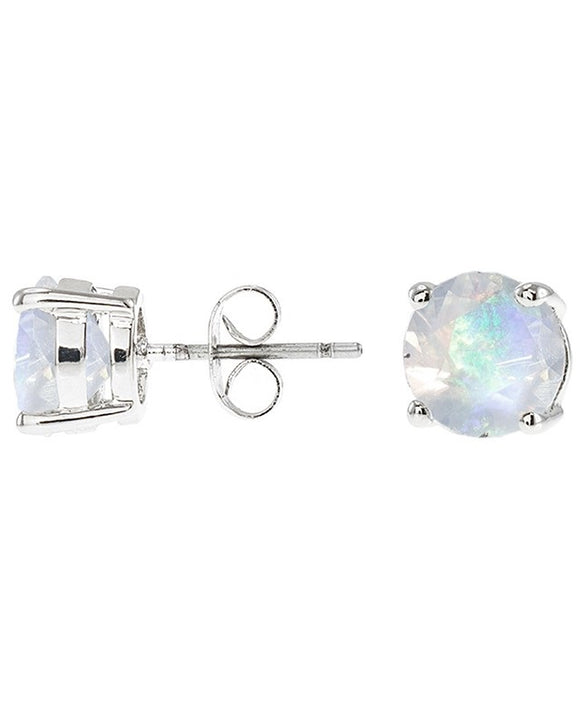 Opal Luxe Round Stud