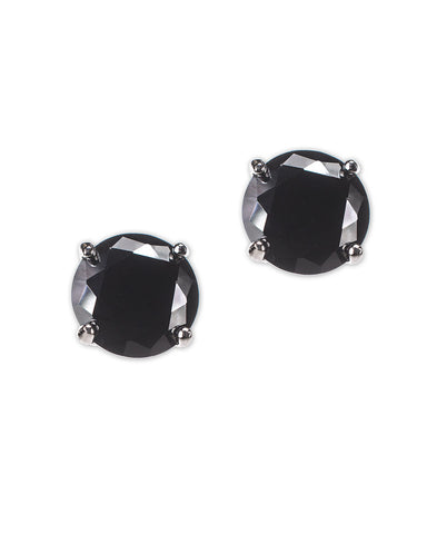 Princess Cut Drop Pierced Earrings