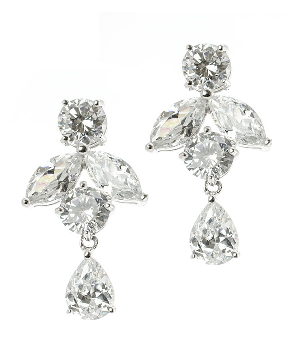 Multi Shape Clip On Earrings