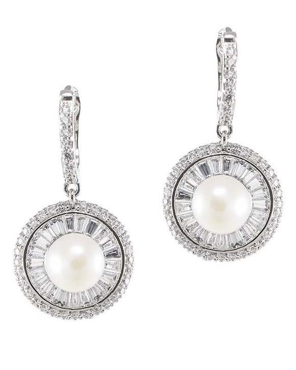 Dazzling Freshwater Pearl Drop Earrings