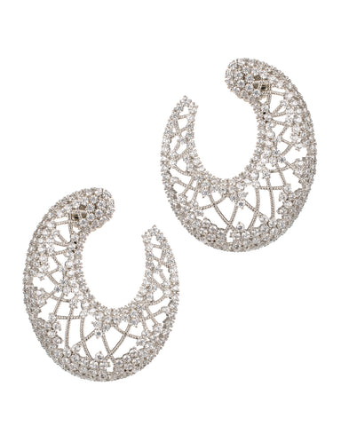 Chandelier Clip Earring in Gold Plated