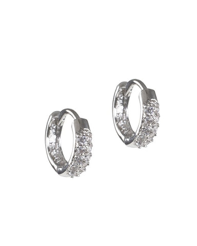 Emerald Cut CZ Earrings