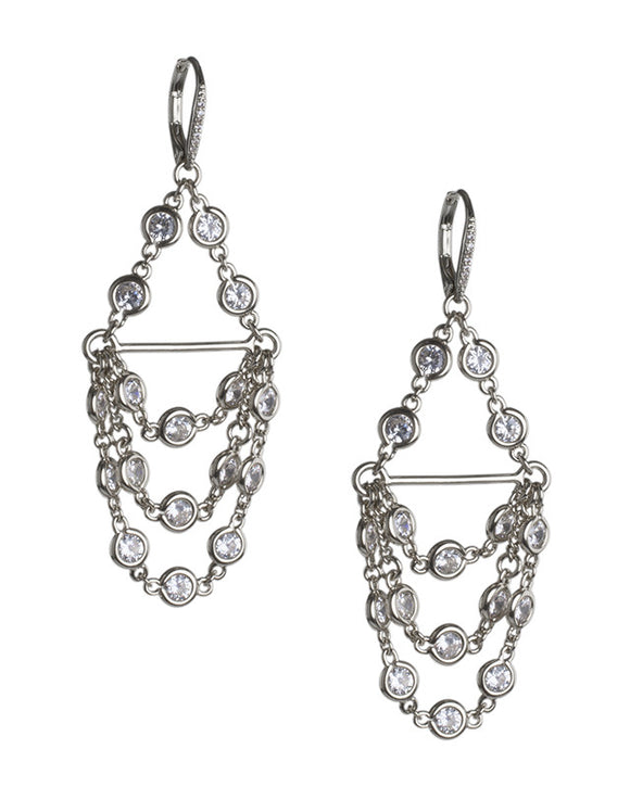 Chandelier Diamond by the Inch Earring