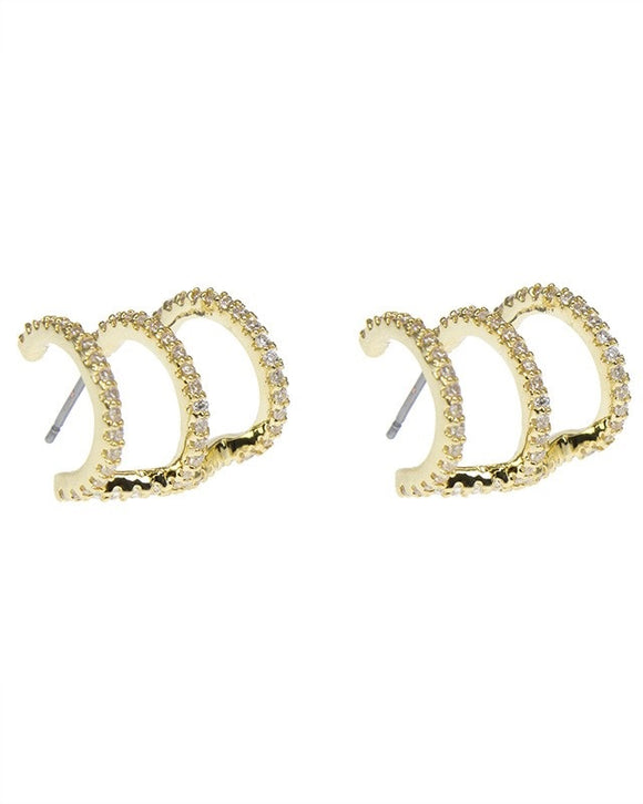 Triple Hoop Ear Cuff