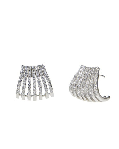 CZ Multi Row Ear Cuff