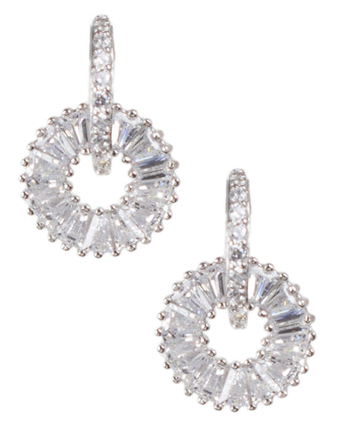 Rose Cut Starburst Earrings