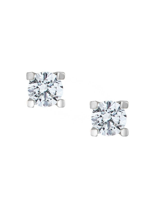 Prong Set Stud Earrings