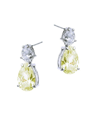 Petite Canary Drop Earrings