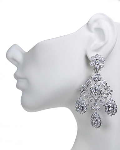 Chandelier Clip Earring